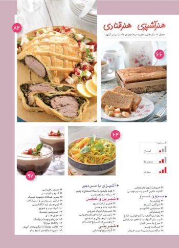 فهرست مجله هنر آشپزی 137
