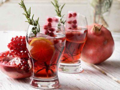 نوشیدنی انار و رزماری